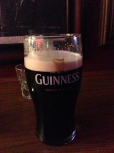 Britannia Pub - A good old fashioned pint of Guinness!