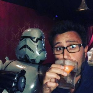 Leave it all behind - Drink with a Stormtrooper