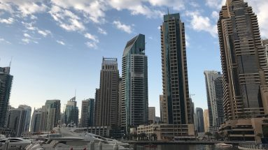 Dubai on a short stopover: Dubai Marina Skyline