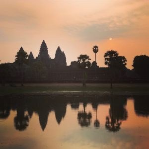 Nomadic 2017: Angkor Wat at Sunrise