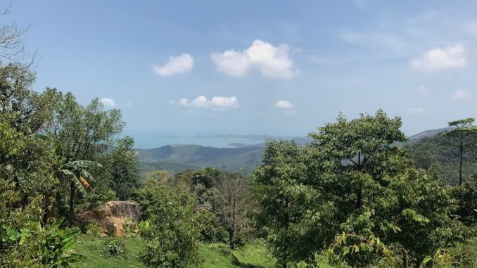Koh Samui - View Over Mae Nem