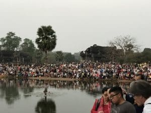 Angkor Wat - Sunrise Tour Full Of Tourists