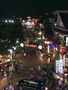 Siem Reap - Pub Street view from above
