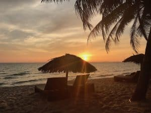 Otres Beach 1, Cambodia - Sunset!