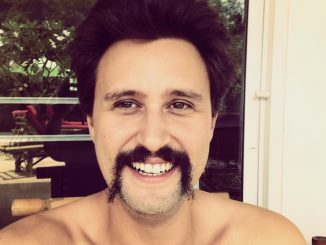 Time To Shave - Chris Bruno Handlebar Moustache