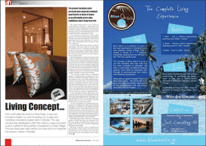 Blast From The Past: Blue Oasis-June 2009 - Gibraltar Magazine