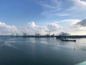 Colon Port - Start of the Panama Canal